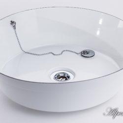 Emaille Waschbecken Fanni - Senior, ø40x10.5cm - rund, 641-99